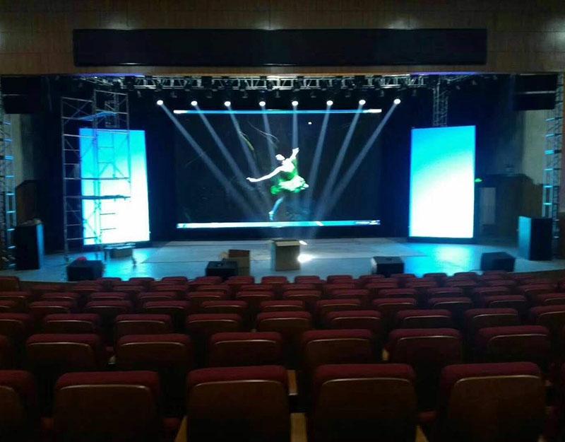 室内P4演出会场LED显示屏