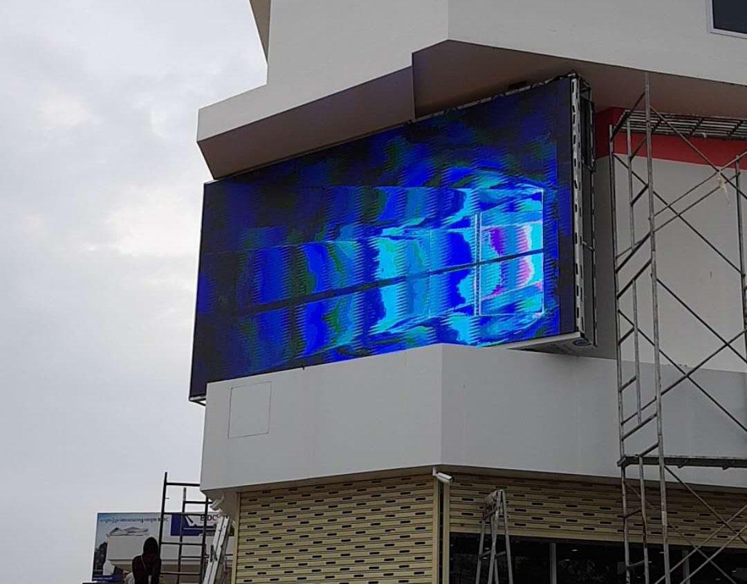 户外P5全彩LED显示案例
