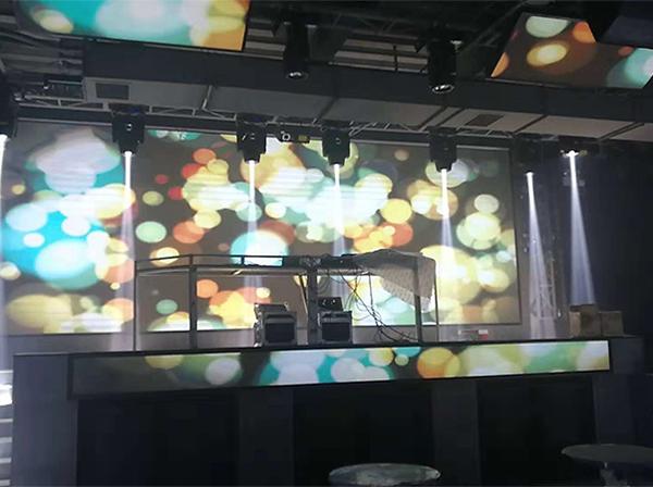室内LED显示屏酒吧屏